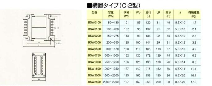 ●外形寸法および重量(縦置タイプ)