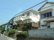 ステンレス屋根、外壁ローラー塗り