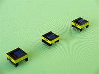 点灯装置等の高電圧トランス 伏型,分割ボビンタイプ 形状EPC サイズ EPC 19