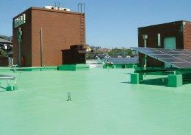 屋上の遮熱